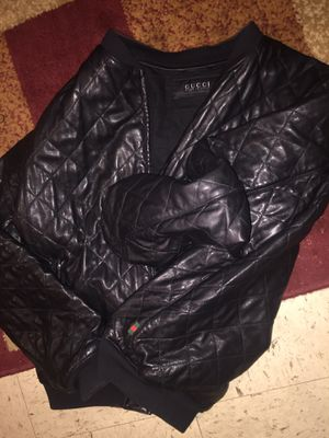 Authentic GUCCI leather coat for Sale in Boston, MA