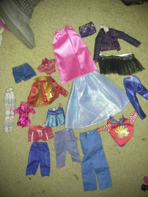 Barbie clothes and shoes for Sale in Zionsville, IN