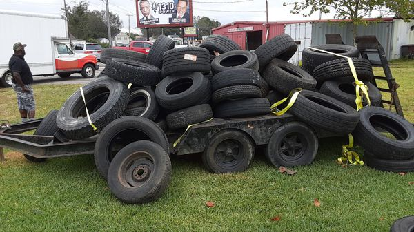 Used tires for sale whole trailer name your price be fair and I'll be fair