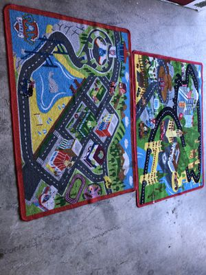 Two toy car rugs for Sale in Olympia, WA