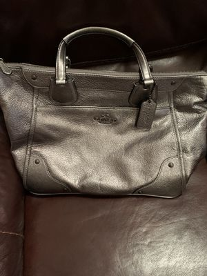 Authentic coach metallic leather purse for Sale in Chesapeake, VA