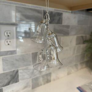 Glass bells Christmas ornament for Sale in Rancho Cordova, CA