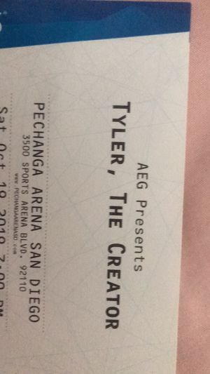 Tyler, The Creator Tickets for Sale in Fontana, CA