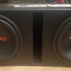 """DS18 Dual 12"""" Vented Powered 1300w Subwoofer Enclosure for Sale in Virginia Beach, VA"""