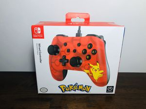 Nintendo Switch PIKACHU Wired Controller for Sale in El Paso, TX