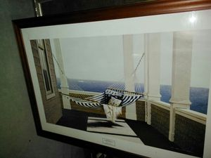 Framed wall art hammock for Sale in Ceres, CA