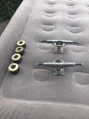 Independent trucks + set of bones wheels for Sale in Payson, AZ