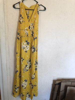 Summer Maxi Dress Yellow for Sale in Grayslake, IL