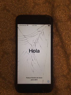 IPHONE 7 128GB (cracked) for Sale in Denton, TX