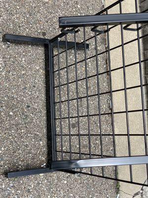 Grid wall rack panels hanging retail store fixture boutique for Sale in Farmington Hills, MI