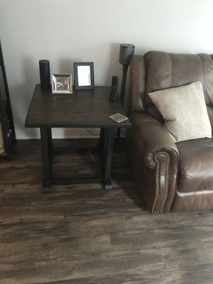 Modern/Industrial end table. for Sale in Tampa, FL