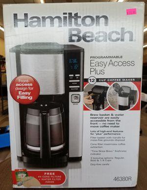 NEW Hamilton Beach Programmable Easy Access 12 Cup Coffee Maker: njft hsewres appliances for Sale in Burlington, NJ