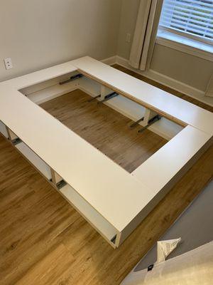 IKEA storage bed frame Queen FREE for Sale in Virginia Beach, VA