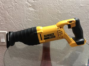 Brand New DeWalt 20V MAX Reciprocating Saw DCS381 for Sale in Coral Gables, FL