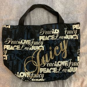 Graphic Juicy Couture Tote Bag/Purse for Sale in San Diego, CA