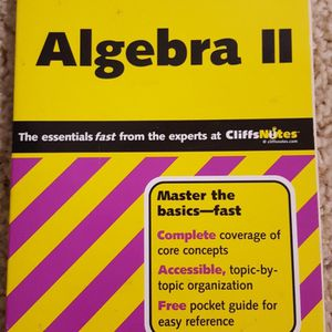 CliffsQuickReview Algebra II New for Sale in Lynnwood, WA