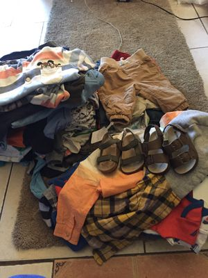 Baby boy clothes all sizes for Sale in Tampa, FL