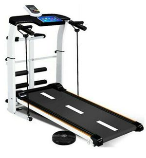 MULTI FUNCTIONAL MANUAL FOLDABLE TREADMILL for Sale in Los Angeles, CA