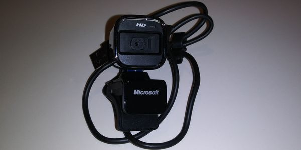 Microsoft LifeCam HD-6000 Webcam for notebooks/laptops