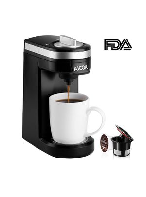 Single Serve Coffee Maker, Coffee Machine for Most Single Cup Pods including K-Cup Pods, Quick Brew Technology Travel One Cup Coffee Brewer for Sale in New York, NY