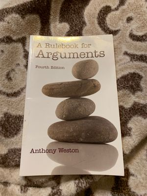 A Rulebook for Arguments fourth edition for Sale in Mesa, AZ