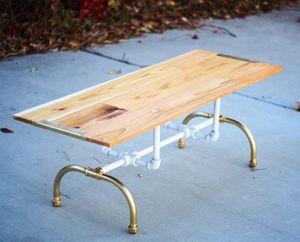 Modern Industrial Coffee Table for Sale in South Salt Lake, UT