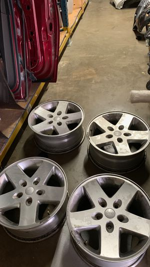 2007-2015 Jeep Wrangler wheels or rims for Sale in Grand Prairie, TX