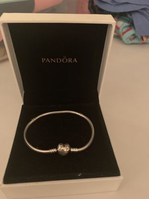 New pandora bracelet with 2 charms for Sale in New York, NY