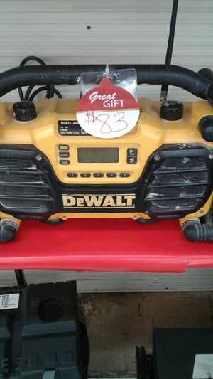 Dewalt radio for Sale in Abilene, TX