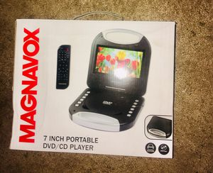 NEW in UNOPENED BOX Magnavox portable DVD/CD Player! for Sale in Thousand Oaks, CA