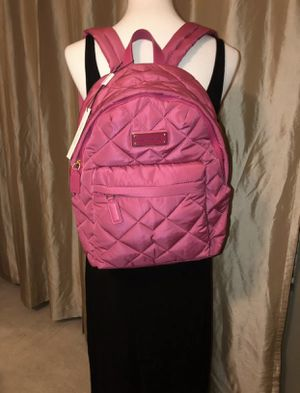 NWT Marc Jacobs Nylon Quilted Backpack in Begonia Pink for Sale in Gilbert, AZ