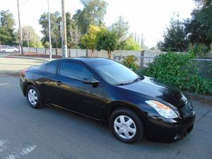 2008 Nissan Altima 2.5 Coupe Automatic Black on Black Runs Good for Sale in Hayward, CA
