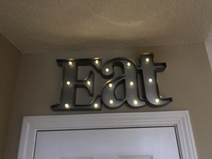 Kitchen sign (EAT) for Sale in Clayton, NC