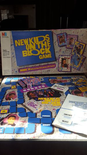New Kids on the Block game for Sale in Akron, OH