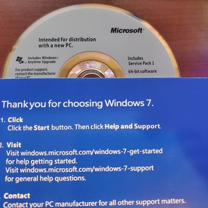 Microsoft Windows 7 Professional DVD & License Key CLEARANCE $20 DOLLARS ONLY! SEALED OEM PACKAGE for Sale in Clayton, NC