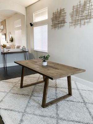 6FT x 3FT Rustic Dining Table for Sale in San Jose, CA