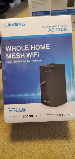 Linksys whole home mesh WiFi brand new in box for Sale in Vancouver,  WA