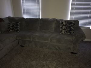 Two piece sectional couch for Sale in Westerville, OH
