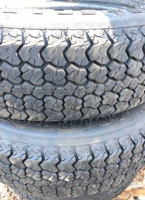 Trailer Tires 175 80 13 Lots of tread for Sale in El Cajon, CA