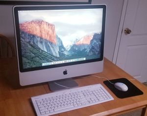 """Upgraded!!! 24"""" iMac & keyboard/mouse for Sale in Springfield, VA"""