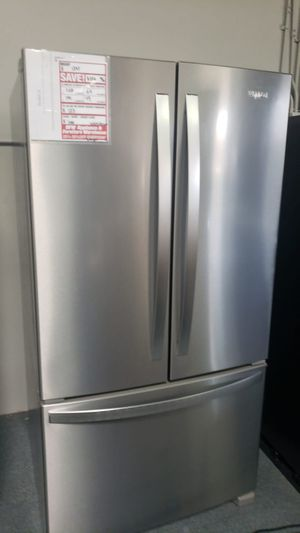 Brand new 3 door Whirlpool fridge! Take it home for $50 down no interest! for Sale in San Leandro, CA