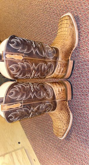 Cody James caiman skin boots for Sale in Frederick, MD