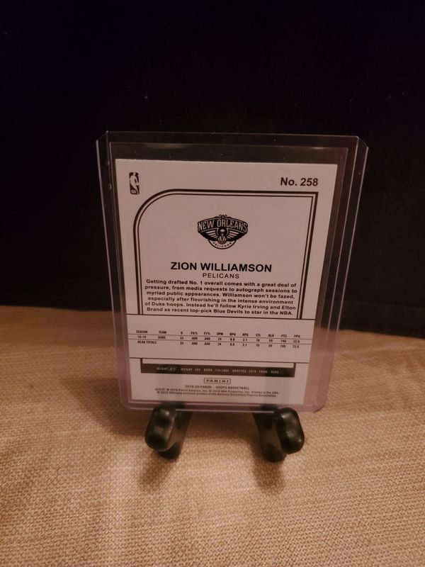 Zion Williamson rookie card