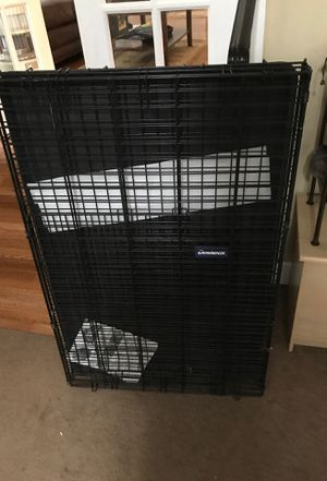 Lg. Metal dog kennel for Sale in Gaithersburg, MD