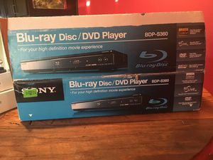 Blue Ray/dvd player for Sale in San Diego, CA