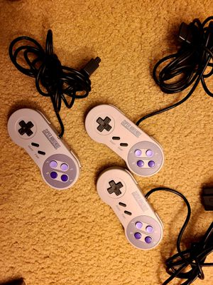 Super Nintendo Controllers OEM for Sale in Fresno, CA