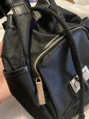 Versace Backpack/ purse (black) for Sale in Puyallup, WA