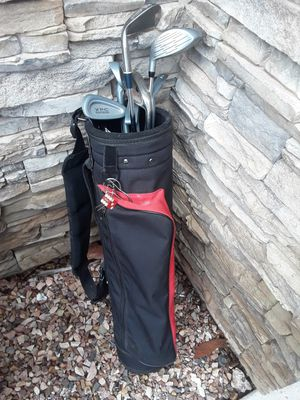 Golf clubs with bag for kits for Sale in Phoenix, AZ