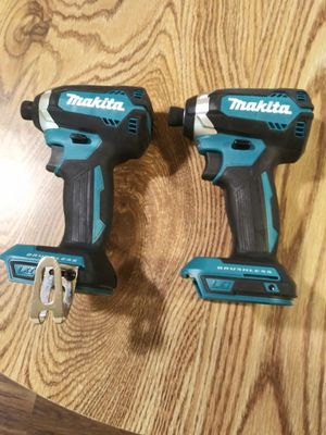 IMPACT MAKITA CORDLESS DRILL ,1/4 ,BRAND NEW .BRUSHLESS. for Sale in Donaldsonville, LA