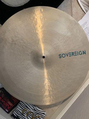 "Soverign Cymbals 22"" Crash Ride for Sale in Glendale, AZ"